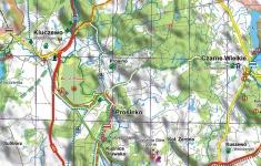 Zestaw map Pojezierza Drawskiego (Wydawnictwo EKO-MAP)
