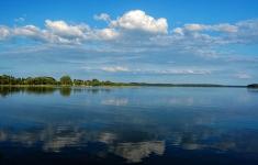 Panorama jeziora Pile