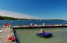Kąpielisko na wyspie Ostrów