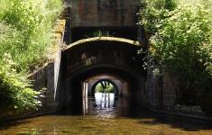 Most przed jeziorem Pile