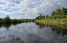 Piława między jeziorami Pile i Długie
