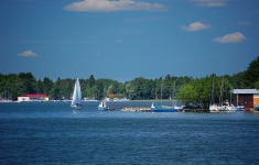 Lato nad jeziorem Drawsko