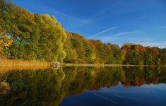 Jezioro Drawsko - Zatoka Kluczewska