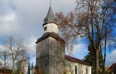 Zabytkowy kościół w Gudowie