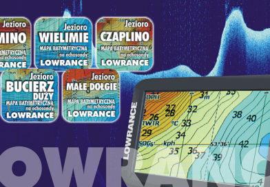 Nowe mapy na echosondy Lowrance