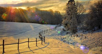 Pojezierze Drawskie w zimowej szacie
